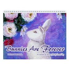 Bunnies Are Forever Wall Calendar