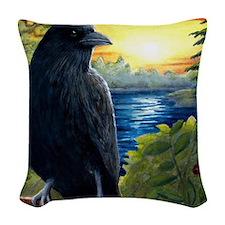 Bird 63 Woven Throw Pillow