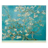 Van gogh almond blossom Luxe King Duvet Cover