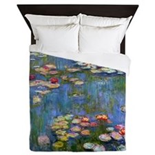 Water Lilies 1916 by Claude Monet Queen Duvet