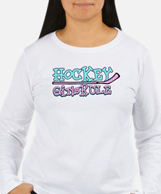 Hockey - Girls Rule T-Shirt