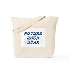FUTURE ROCK STAR (BLUE) Tote Bag