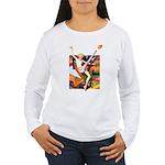 Football Season Women's Long Sleeve T-Shirt