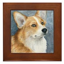 Dog 98 Framed Tile