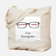 Superhero (red) Tote Bag