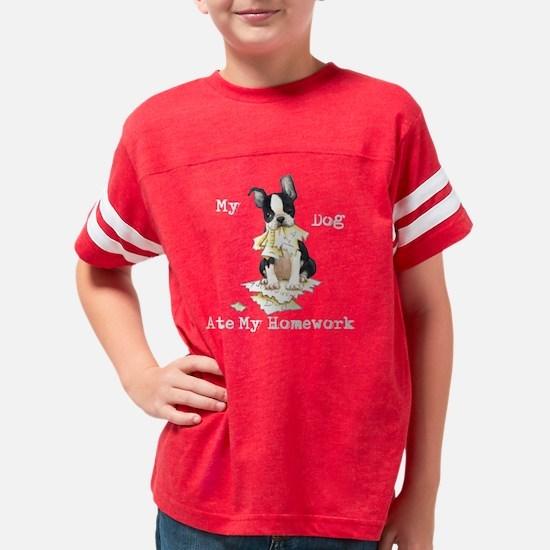 2-boston school-K Youth Football Shirt