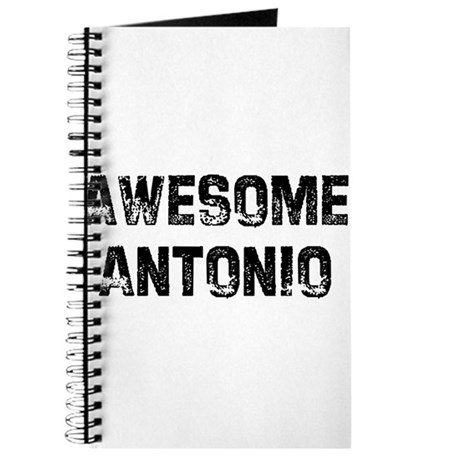 Awesome Antonio Journal