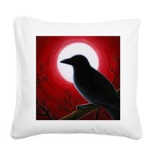 Bird 62 Square Canvas Pillow