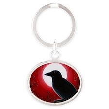 Bird 62 Oval Keychain