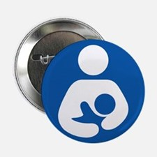"Breastfeeding Friendly 2.25"" Button (100 pack)"