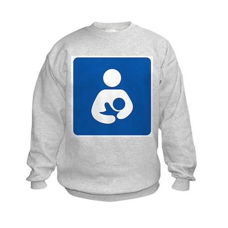 Breastfeeding Friendly Kids Sweatshirt