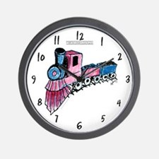 Patriotic I Can Train Wall Clock