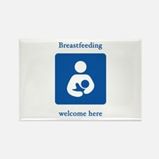 Cute Breastfed Rectangle Magnet