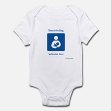 Breastfeeding Welcome Infant Bodysuit