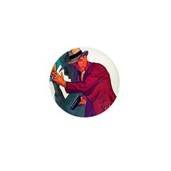 Gangster #2 Mini Button