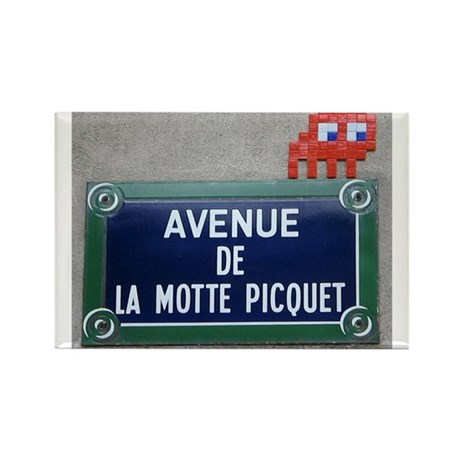 Motte Picquet Rectangle Magnet (10 pack)
