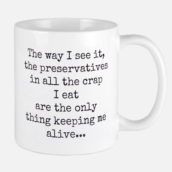 Preserve Us! Mug