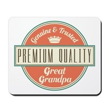 Vintage Great Grandpa Mousepad