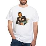 Gangster #1 White T-Shirt
