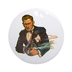 Gangster #1 Ornament (Round)