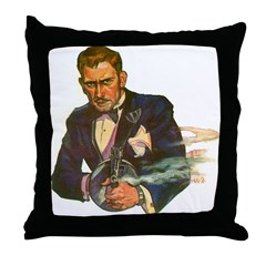 Gangster #1 Throw Pillow
