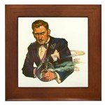 Gangster #1 Framed Tile