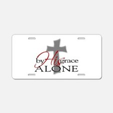 Unique Christian Aluminum License Plate
