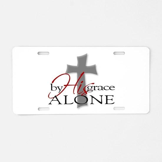Unique Christian Aluminum License Plate