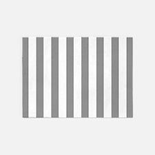 Gray Stripes 5'x7'area Rug