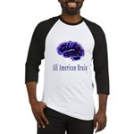 All American Brain Baseball Jersey