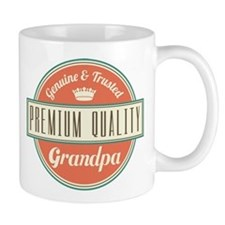 Vintage Grandpa Small Mug