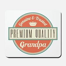 Vintage Grandpa Mousepad