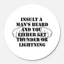 Cute Duck dynasty Round Car Magnet