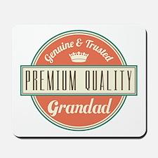 Vintage Grandad Mousepad