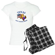Army National Guard - TEXAS w Flag Pajamas