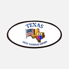 Army National Guard - TEXAS w Flag Patches