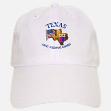 Army National Guard - TEXAS w Flag Baseball Baseball Cap