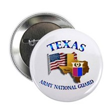 "Army National Guard - TEXAS w Flag 2.25"" Button"