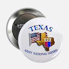 "Army National Guard - TEXAS w Flag 2.25"" Button (1"
