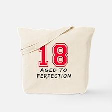 18 year birthday designs Tote Bag