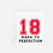 18 year birthday designs Greeting Card