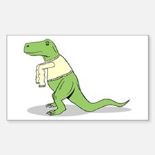 T.Rex Hates Sweaters Decal