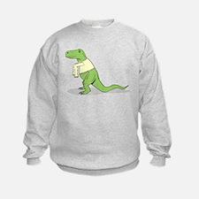 T.Rex Hates Sweaters Sweatshirt