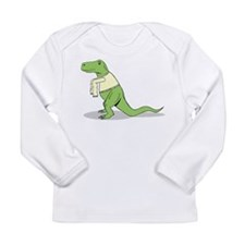 T.Rex Hates Sweaters Long Sleeve T-Shirt