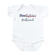 Firefighter Girlfriend Infant Bodysuit