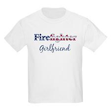Firefighter Girlfriend Kids T-Shirt