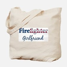 Firefighter Girlfriend Tote Bag