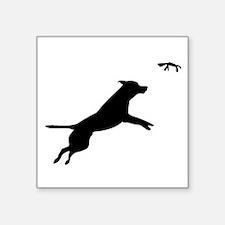 Dock Diving dog Sticker