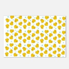 Rubber Duck Pattern Postcards (Package of 8)