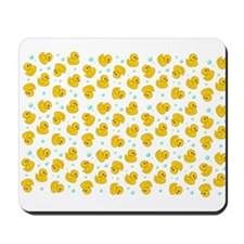 Rubber Duck Pattern Mousepad